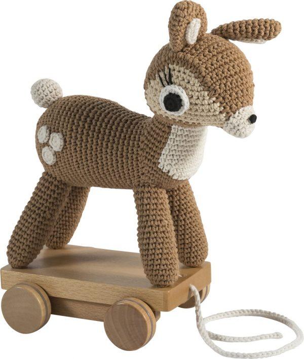 Sebra - Trekspeeltje gebreid bambi