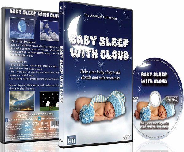 Baby in de wolken - Slaapliedjes - Rustgevende slaap DVD