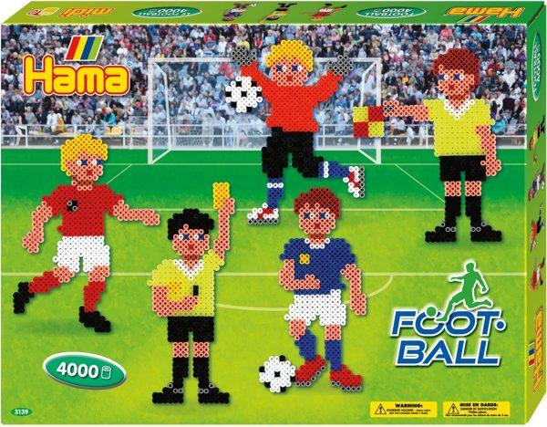 Hama - Strijkkralenpakket - Football - 4000 stuks