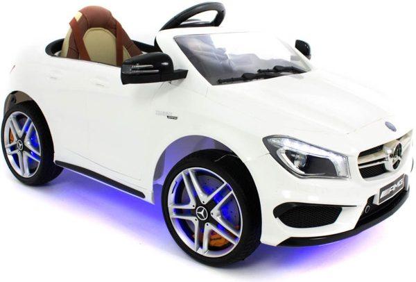 Mercedes kinderauto CLA45 AMG wit
