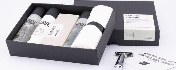 Mr Maroosh - Shave ETQ - Luxe Scheerset voor Mannen - Verjaardagscadeau voor hem