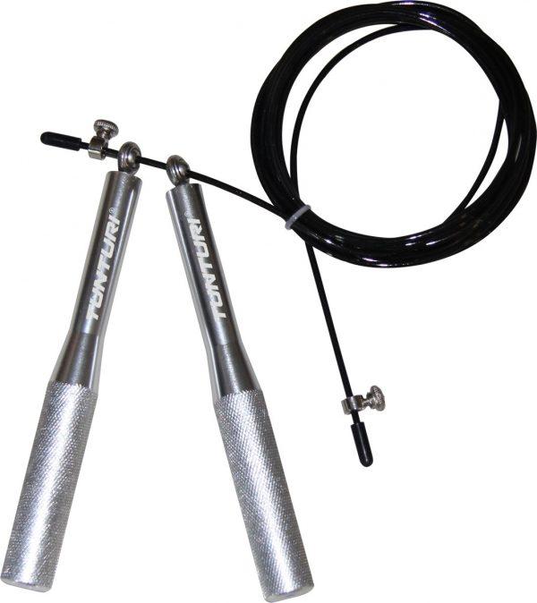 Tunturi Verstelbare Springtouw Aluminium Handvat