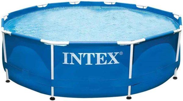Intex Metal Frame Set Zwembad Incl. Filterpomp Ø: 366 cm H: 76 cm - Opzetzwembad