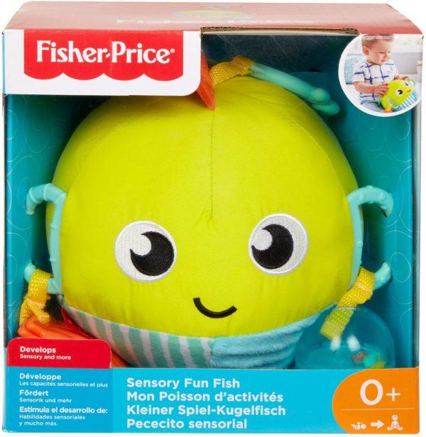 Fisher-Price Vrolijke Speelvis - Grijpspeelgoed