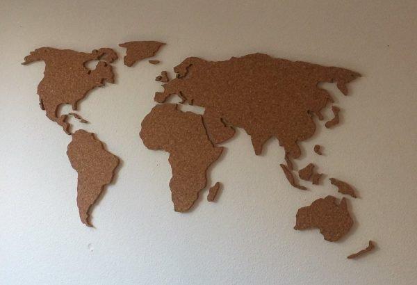 Kurk wereldkaart