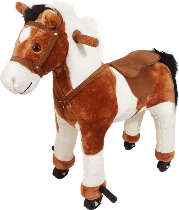 Playwood - Mechanisch rijdend paard met geluid