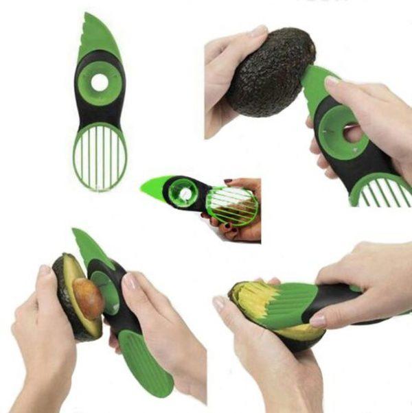 Premium 3-in-1 Avocado Snijder - Keukengadget Avocadosnijder Avocado