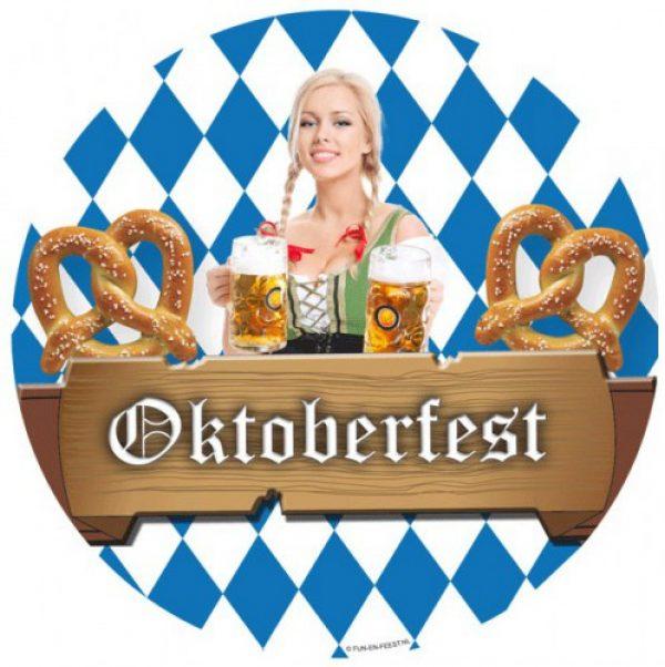 50x Bierfeest/Oktoberfest bierviltjes Multi