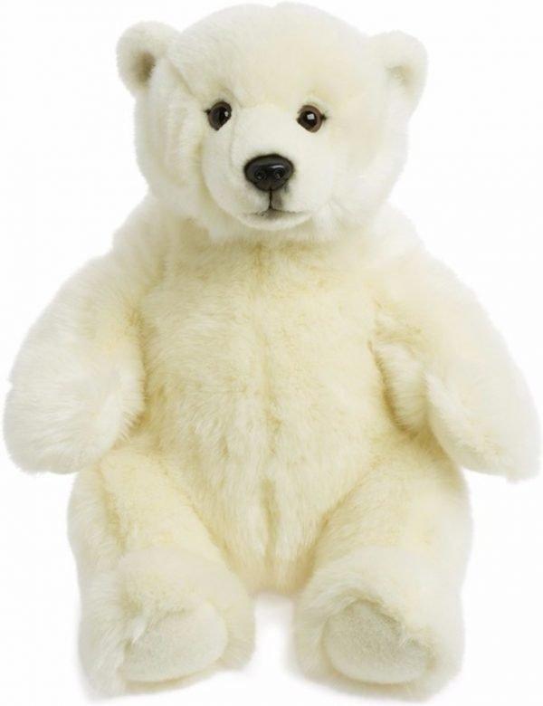 Pluche knuffel ijsbeer 32 cm