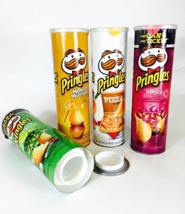 Pringles Stash Can geheim geldkistje bewaarblik - Geheime kluizen en spaarpotten