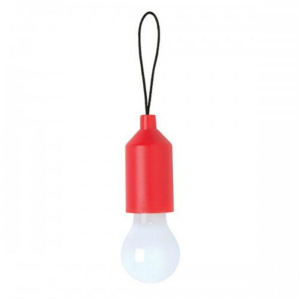 LOOOQS Pull lamp sleutelhanger - Rood