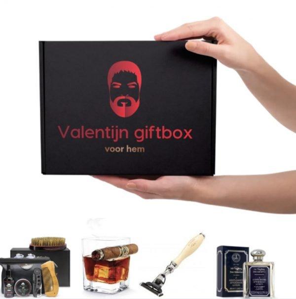 Valentijn giftbox cadeau voor hem! / Cadeautje / Cadeautjes voor de man