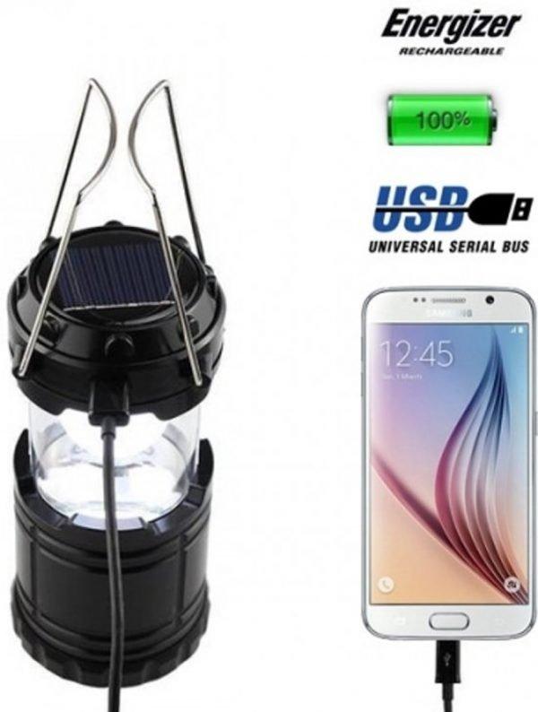 Camping Lamp - Camping Lamp Oplaadbaar - Solar- Solar lamp- Solar Lamp Tafel