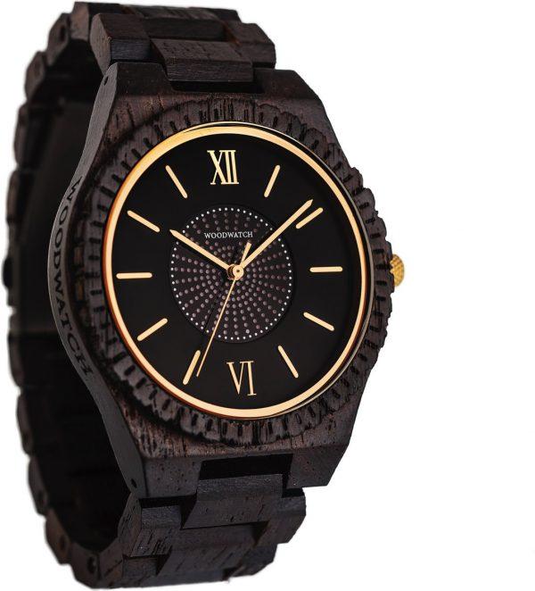 De officiële WoodWatch | SOLAR Neutron | Houten horloge heren