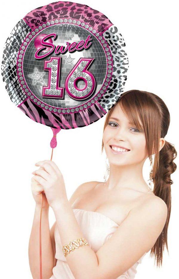 Sweet 16 Folieballon - 41 cm