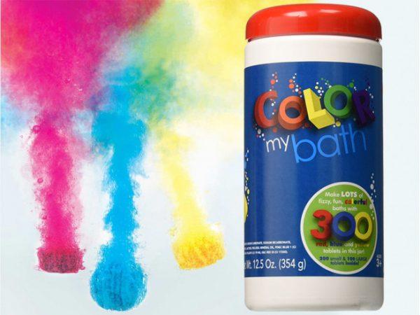Color My Bath Bruisballen