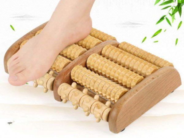 Houten Voetmassage Roller