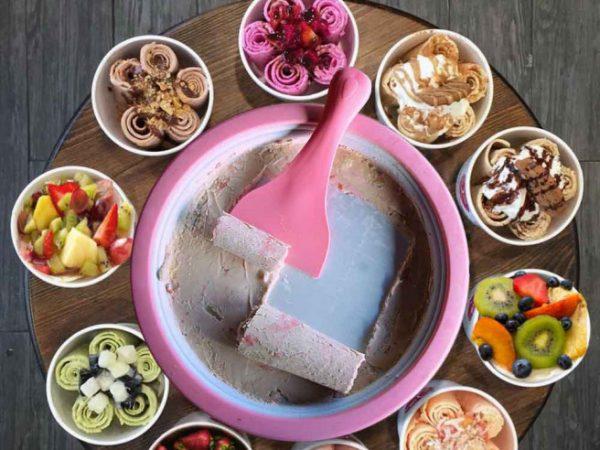 Ice Cream Roll Pan