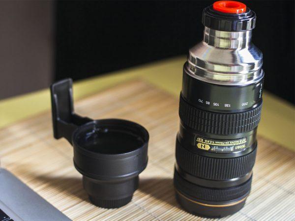 Thermosfles Camera Lens