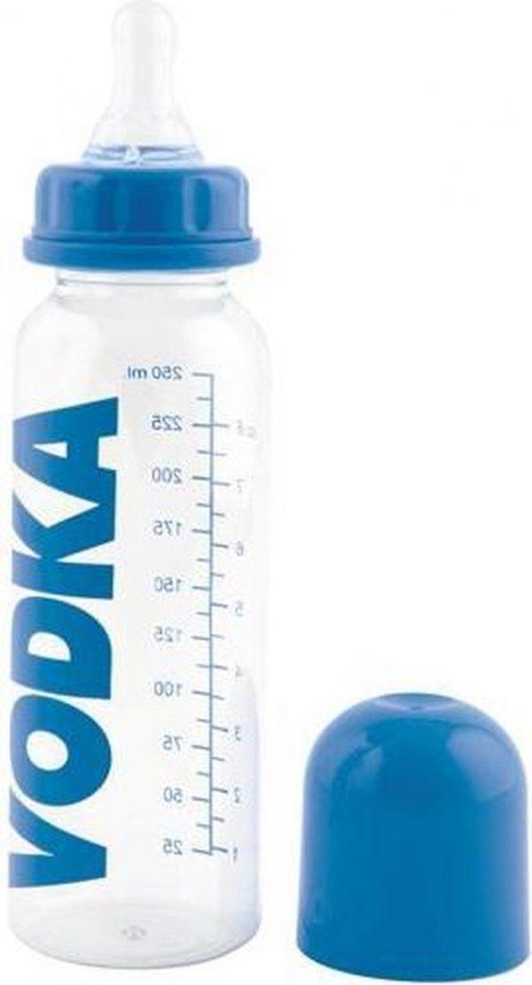 Wodka drinkfles voor babys 15 x 8 cm