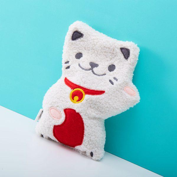 Bitten warmtekussen - Lucky Cat