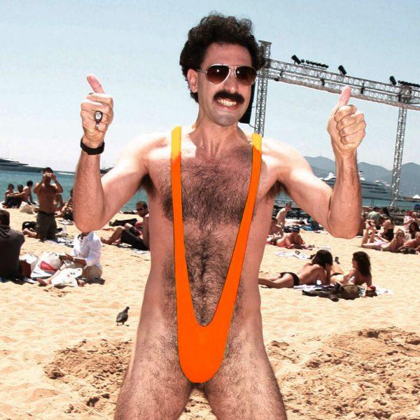 Borat mankini - Oranje