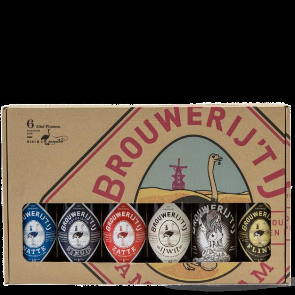 Brouwerij t IJ | Bierpakket 6 x 33 cl