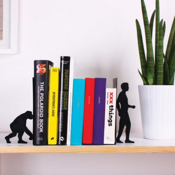 DOIY Boekensteunen Evolutie - Zwart