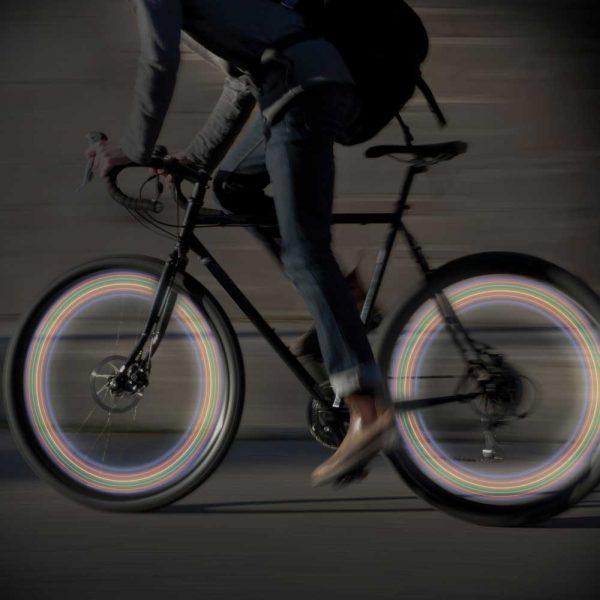 Fietswiel LED-lampen (set van 2)