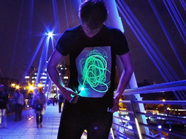 Interactive Glow T-Shirts