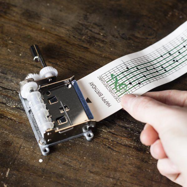 Kikkerland Maak je eigen muziekdoosje