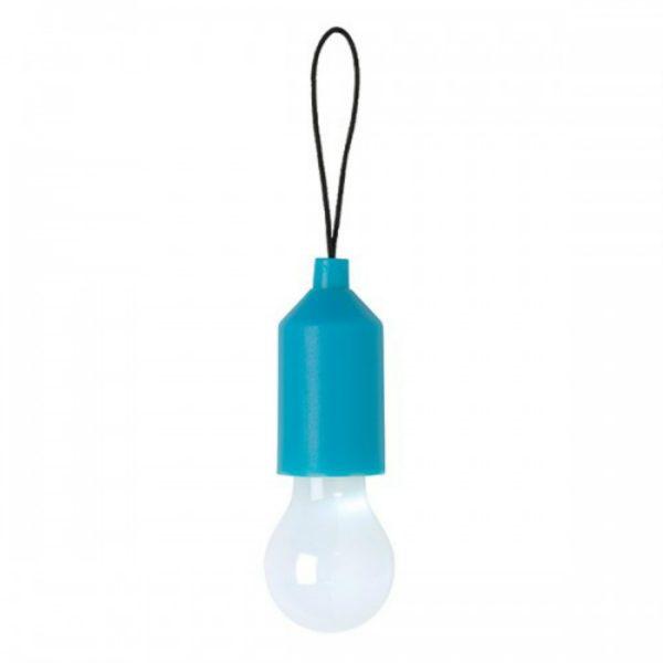 LOOOQS Pull lamp sleutelhanger - Blauw