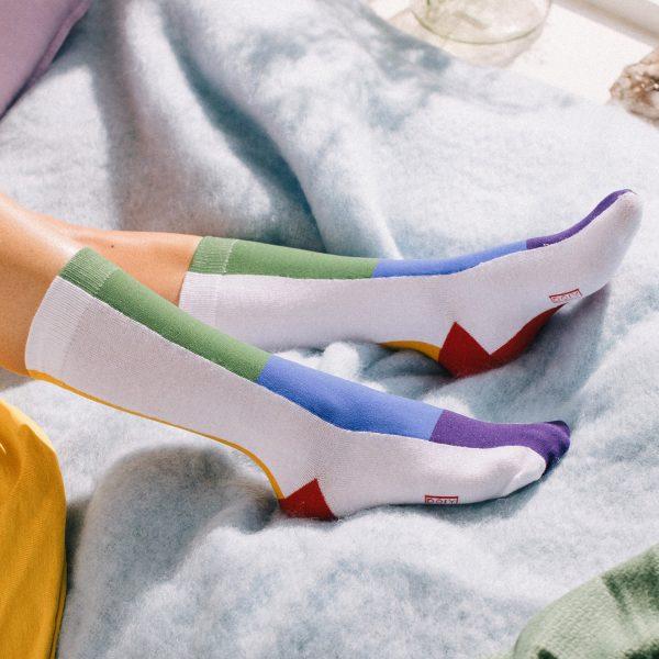 Regenboog sokken - Classic