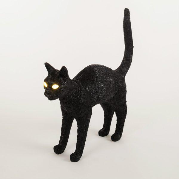 Seletti Cat lamp - Zwart