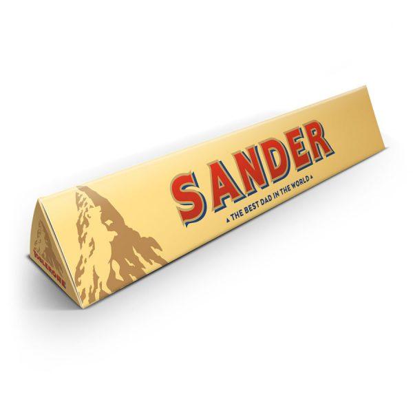 Vaderdag Toblerone chocoladereep - 200 gram