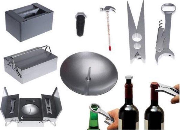 Wijn Geschenkset - Metalmorphose Openers Wijn Toolbox
