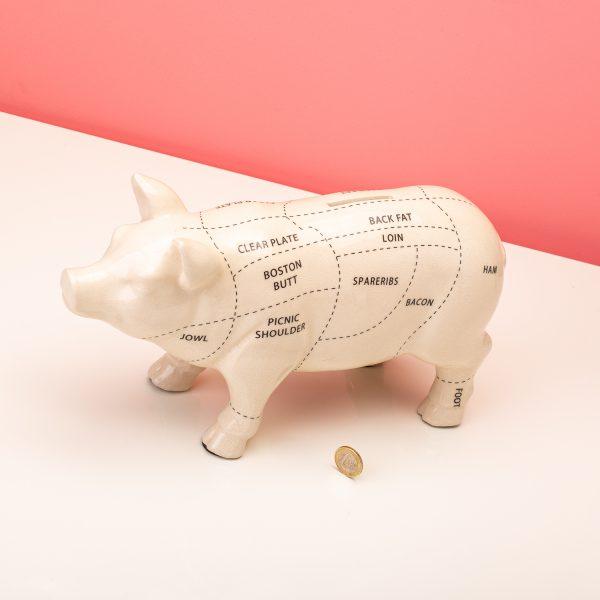 Balvi Cuts of Pork spaarpot - Groot