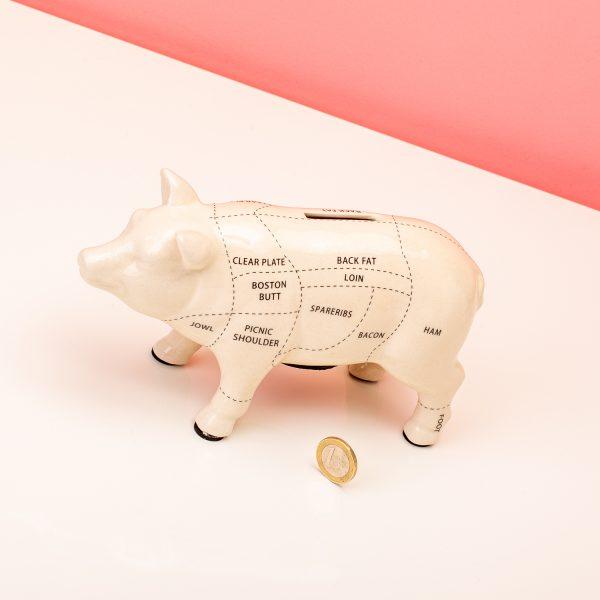 Balvi Cuts of Pork spaarpot - Klein