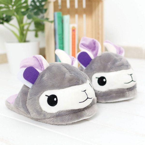 Fisura Lama pantoffels - Paars