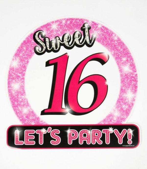 Huldeschild Sweet Sixteen - Sweet 16