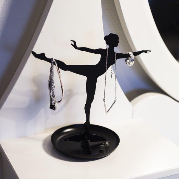 Kikkerland Ballerina sieradenhouder