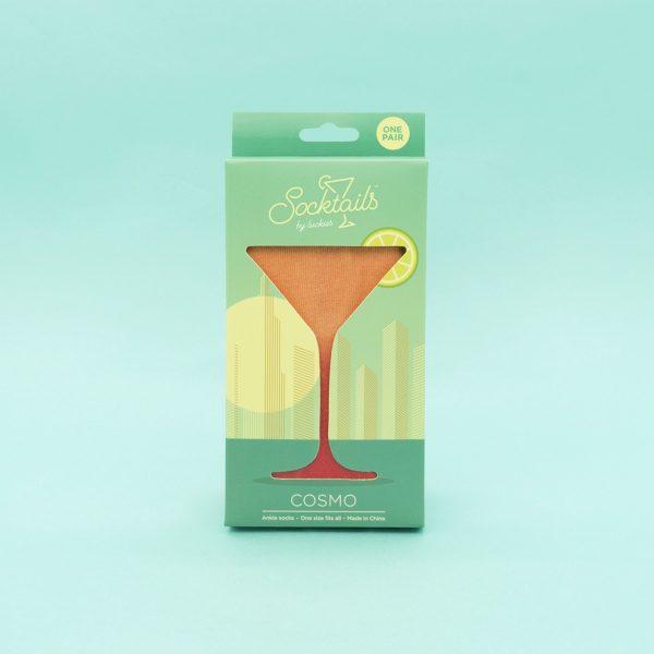 Luckies Socktails cocktailsokken - Cosmo