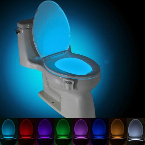 Motion Activated toilet nachtlampje LED toilet licht badkamer wasruimte