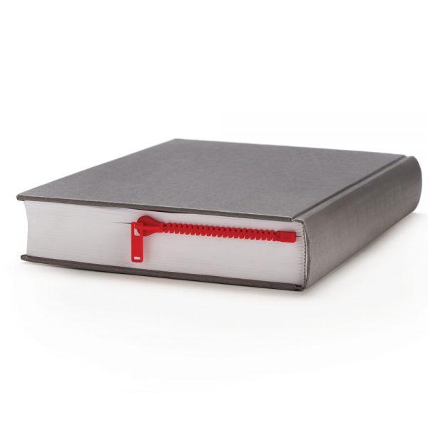Peleg Design Rits boekenlegger - Rood