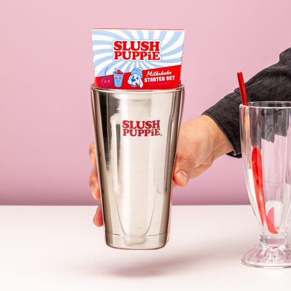 Slush Puppie Milkshake set - Red Cherry