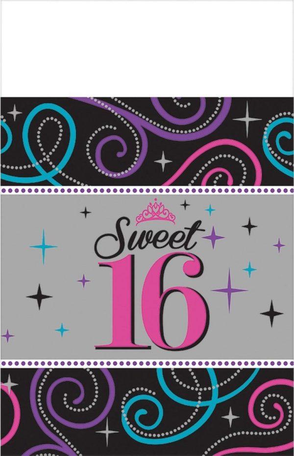 Sweet 16 Tafelkleed 259x137cm