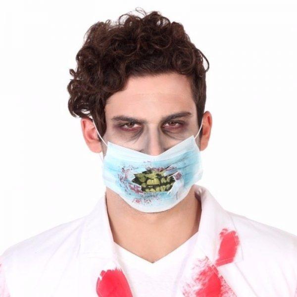 Dokter mondkap Halloween