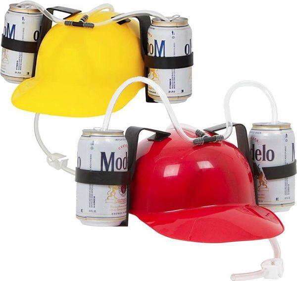 MikaMax Bier Helm One-size 2 blikjes