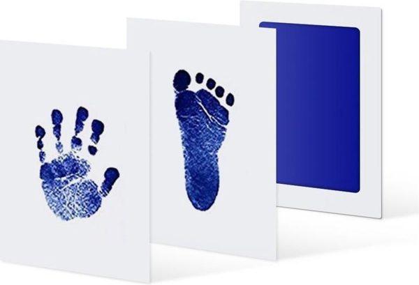 My Unique Product Baby Handafdruk en Voetafdruk - Blauw