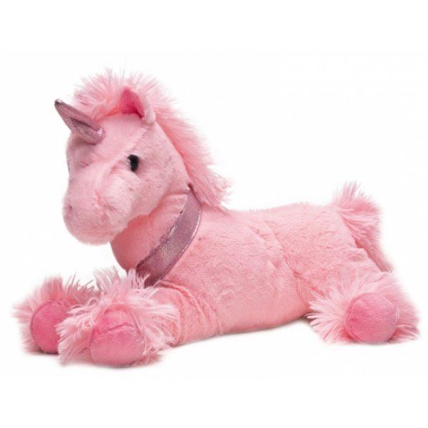 Roze eenhoorn knuffels 33 cm